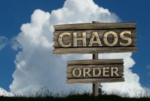 Vanuit de chaos orde creëren. (foto van Pixabay)