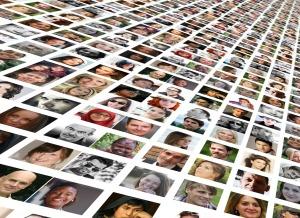 De hele wereld op sociale media. (foto van Pixabay)