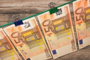Eurootjes besparen. Foto van http://pixabay.com/