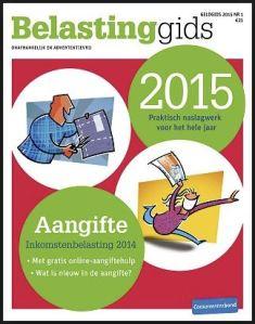 Consumentenbond Belastinggids 2015