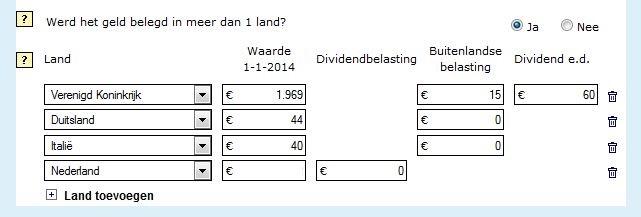 Buitenlandse beleggingen BIN.CK